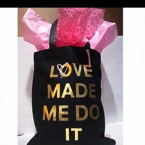 NWT Victoria's Secret Love Made Me Do It Tote